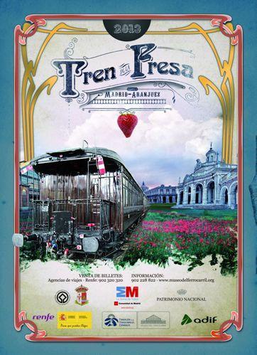 El Tren de la Fresa comienza su temporada de otoño 2013