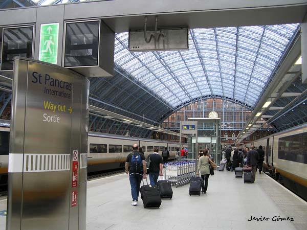 estación de St. Pancras en Londres