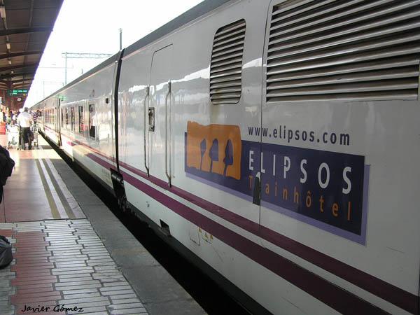 El tren hotel elipsos a par s desde madrid for Trenhotel de barcelona a paris