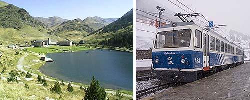 Tren al Vall de Nuria