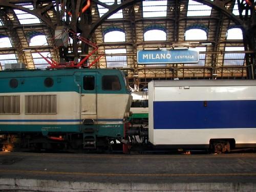 Tren de Milan a Florencia
