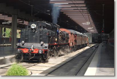 El tren de la Fresa a Aranjuez, un histórico