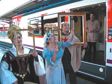 Tren Medieval a Siguenza