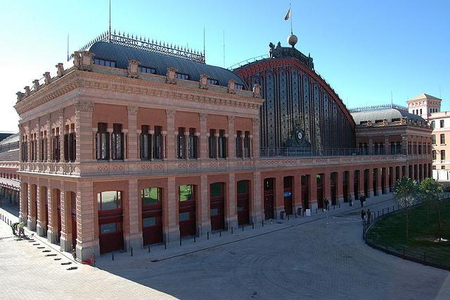 La estacion de Atocha, en Madrid