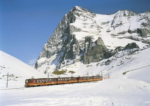 Video del tren al Jungfrau en Suiza