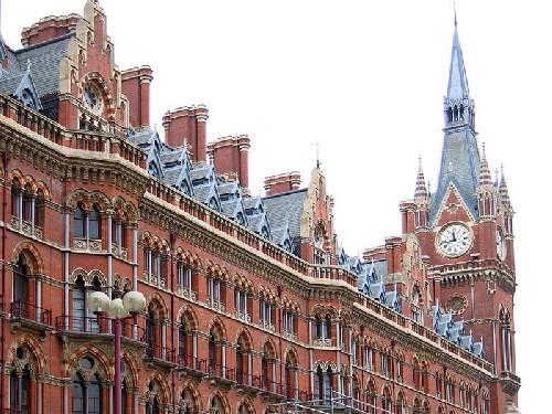 Estacion de St. Pancras en Londres