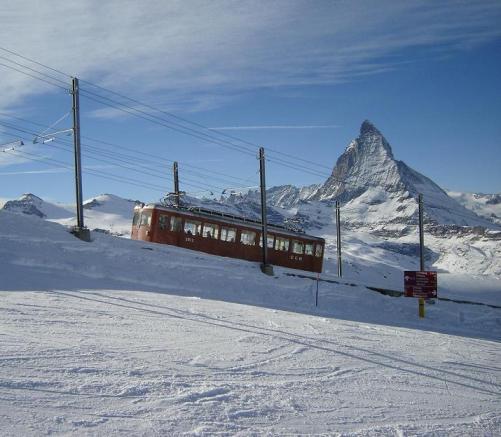 Video del tren de Zermatt al Gornergrat