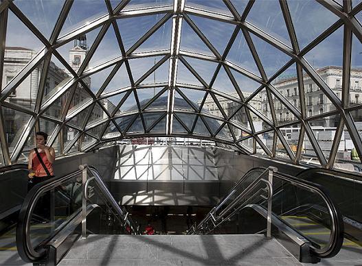 La Estación de Sol, imagen moderna de Madrid