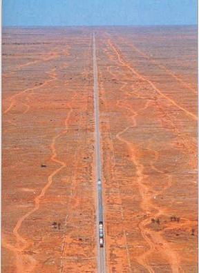 La recta ferroviaria más larga del mundo, Nullarbor Plains