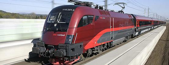Tren en Austria