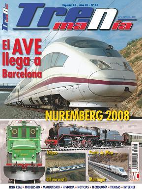 Revistas ferroviarias, información de trenes