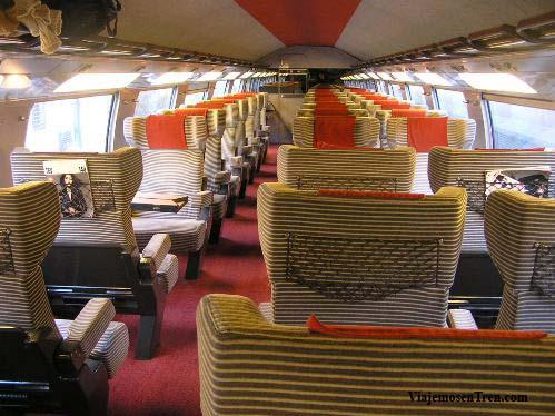 Espacio Calme en TGV a Estrasburgo