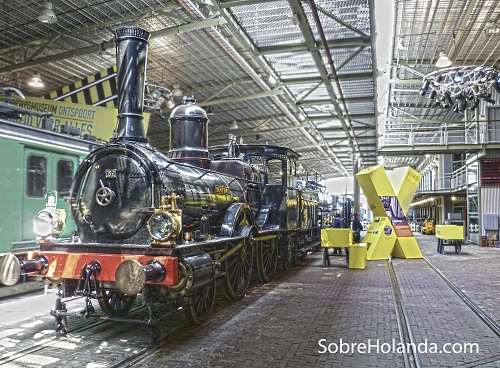 Spoorweg Museo del tren de Utrecht