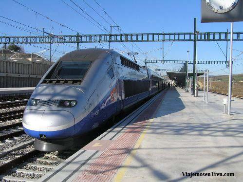 TGV a Montpellier