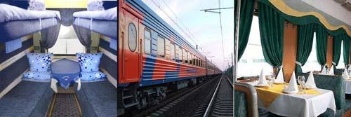 Tren Moscu Paris con la FPK