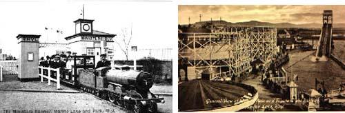 Centenario del minitren de Rhyl, en Gales