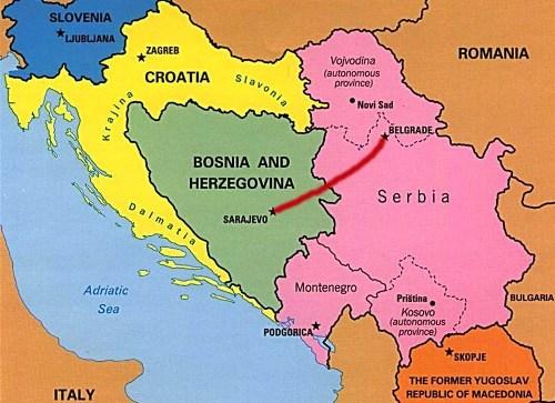 Belgrado y Sarajevo