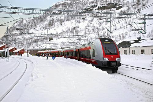 El Bergensbanen en video, entre Oslo y Bergen