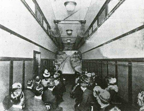 Historias de cines y tren en el siglo XX