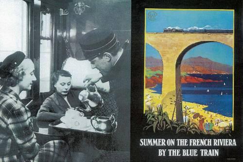 El Train Bleu, a la Riviera Francesa