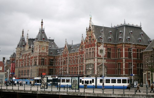 La Estación Central de Amsterdam