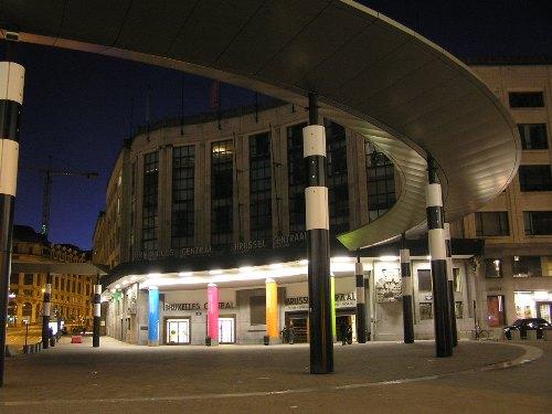 La Gare Centrale, la estación central de Bruselas