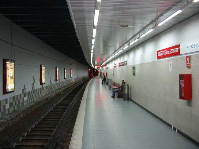 La nueva estación de Cercanías en Málaga