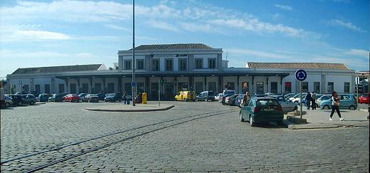La estación de tren de Granada