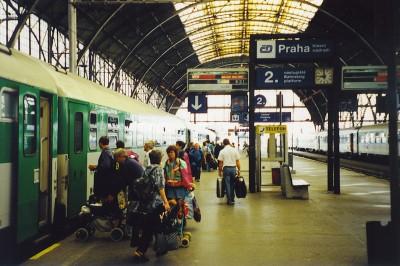 Cómo viajar de Berlín a Praga en tren