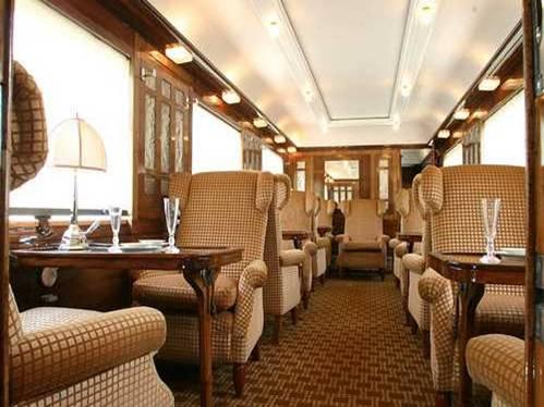 Orient Express, interior salon