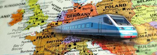 Interrail Benelux Pass, en tren por Bélgica