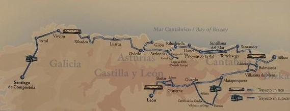 ruta del Transcantabrico