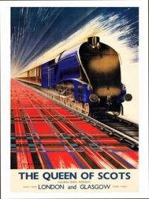 Antiguos folletos de trenes de Renfe