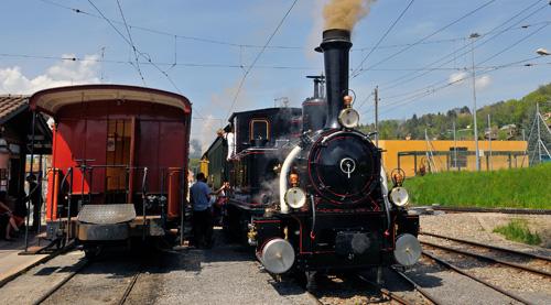 El tren Blonay Chamby en Suiza
