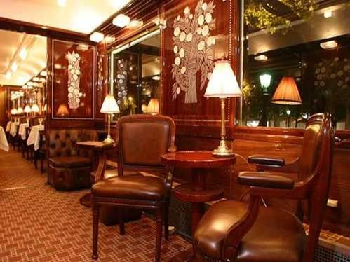 Orient Express, interior, sala